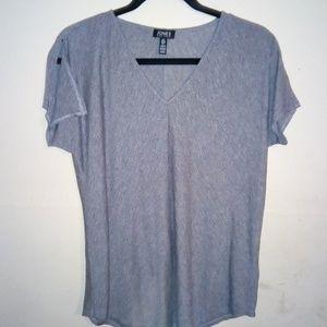 Jones New York Loose Top Shirt sz S